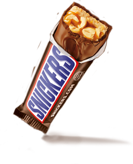 snickers bar nutrition
