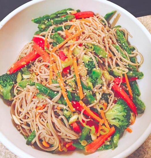 Sloane soba noodle recipe