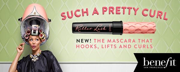 *New* Benefit Roller Lash Mascara Review & ContestDetails!