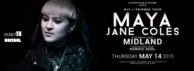 maya jane coles q nightclub